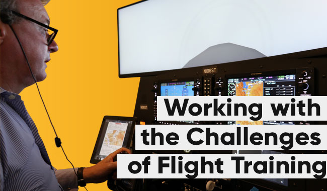 Working-with-challenges-flight-training-new-york-Simtech